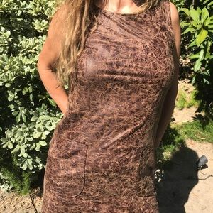 Monteau mini dress size medium